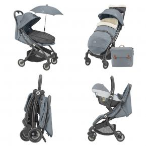 Коляска прогулочная Maxi-cosi Jaya Essential Grey - изображение 11 - интернет-магазин tricolor.com.ua