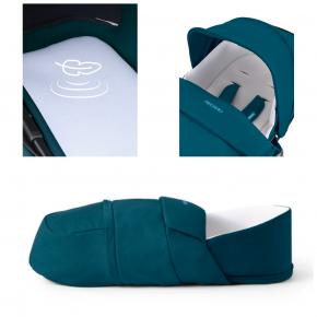 Коляска универсальная Recaro Celona Teal Green 2 в 1 со спальным конвертом - изображение 9 - интернет-магазин tricolor.com.ua