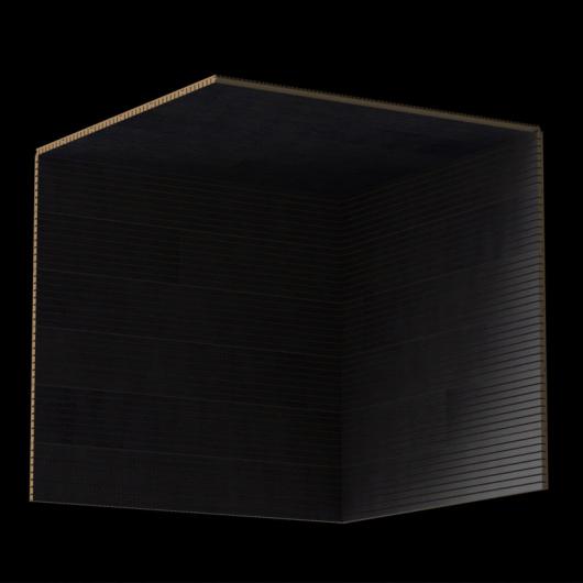Акустическая панель Perfect-Acoustics Octa 1,5 мм без перфорации шпон Эбони Gabon 10.43 Gabon Ebony негорючая - изображение 3 - интернет-магазин tricolor.com.ua