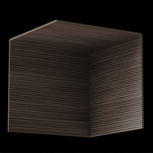Акустическая панель Perfect-Acoustics Octa 1,5 мм без перфорации шпон Венге Contrast 20.73 негорючая - изображение 3 - интернет-магазин tricolor.com.ua
