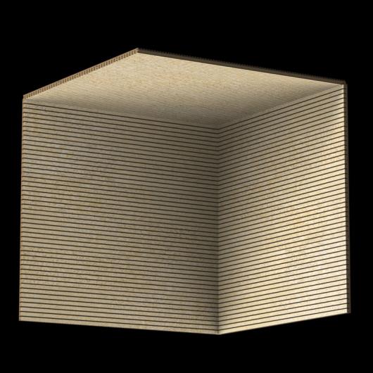 Акустическая панель Perfect-Acoustics Octa 1,5 мм без перфорации шпон Клен птичий глаз 10.02 негорючая - изображение 3 - интернет-магазин tricolor.com.ua