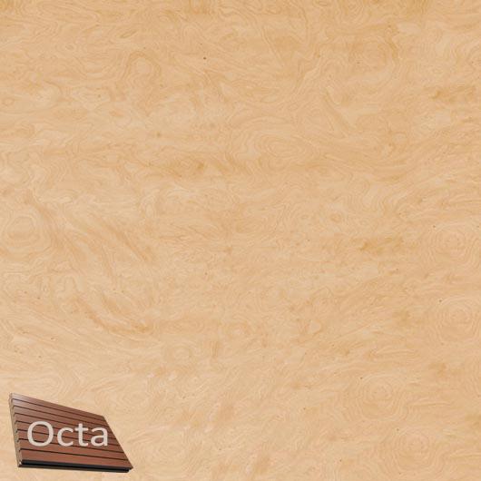 Акустическая панель Perfect-Acoustics Octa 1,5 мм без перфорации шпон Корень ясеня 10.08 негорючая - интернет-магазин tricolor.com.ua