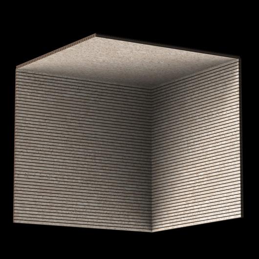Акустическая панель Perfect-Acoustics Octa 1,5 мм без перфорации шпон Клен птичий глаз 11.07 Sand Erable негорючая - изображение 3 - интернет-магазин tricolor.com.ua