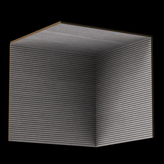 Акустическая панель Perfect-Acoustics Octa 1,5 мм без перфорации шпон Concrete Pinstripe 14.04 негорючая - изображение 3 - интернет-магазин tricolor.com.ua