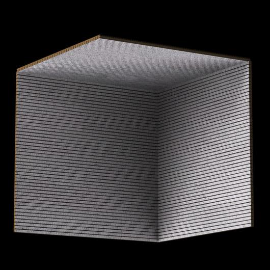 Акустическая панель Perfect-Acoustics Octa 1,5 мм без перфорации шпон Frame 14.03 негорючая - изображение 3 - интернет-магазин tricolor.com.ua