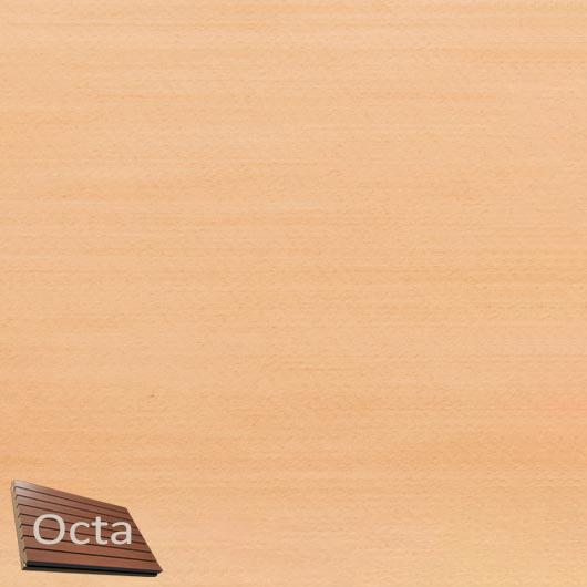 Акустическая панель Perfect-Acoustics Octa 1,5 мм без перфорации шпон Бук радиальный SBF 1A 758-00-V негорючая - интернет-магазин tricolor.com.ua