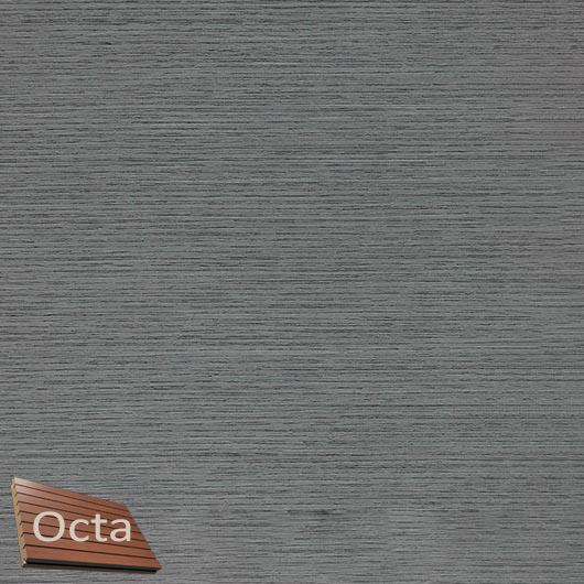 Акустическая панель Perfect-Acoustics Octa 1,5 мм с перфорацией шпон Дуб Balanced Gray Oak 10.66 стандарт - интернет-магазин tricolor.com.ua