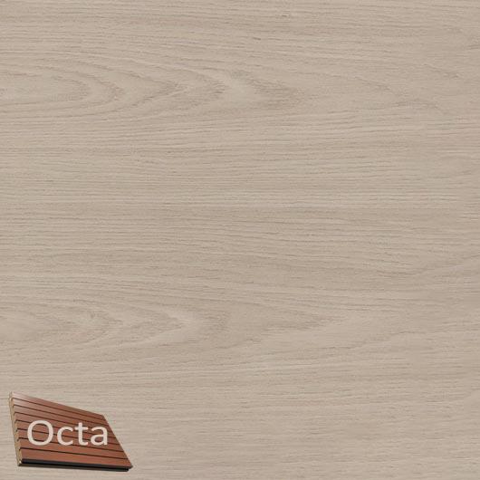 Акустическая панель Perfect-Acoustics Octa 1,5 мм с перфорацией шпон Дуб белый Xilo тангентальный 18.50 стандарт - интернет-магазин tricolor.com.ua