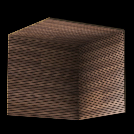 Акустическая панель Perfect-Acoustics Octa 1,5 мм с перфорацией шпон Орех Американский радиальный 20.14 стандарт - изображение 3 - интернет-магазин tricolor.com.ua