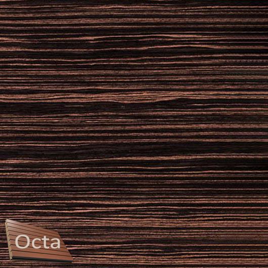 Акустическая панель Perfect-Acoustics Octa 1,5 мм с перфорацией шпон Эбеновое дерево 149 стандарт - интернет-магазин tricolor.com.ua