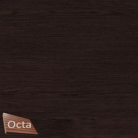 Акустическая панель Perfect-Acoustics Octa 1,5 мм с перфорацией шпон Венге крупнорадиальный Dog 6 стандарт - интернет-магазин tricolor.com.ua