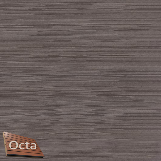 Акустическая панель Perfect-Acoustics Octa 1,5 мм с перфорацией шпон Венге белый 11.11 Dark Grey Lati стандарт - интернет-магазин tricolor.com.ua