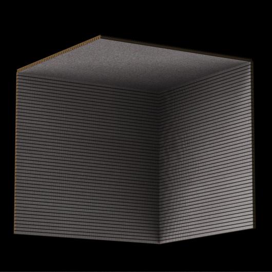 Акустическая панель Perfect-Acoustics Octa 1,5 мм с перфорацией шпон Smoky velvet 14.02 стандарт - изображение 3 - интернет-магазин tricolor.com.ua