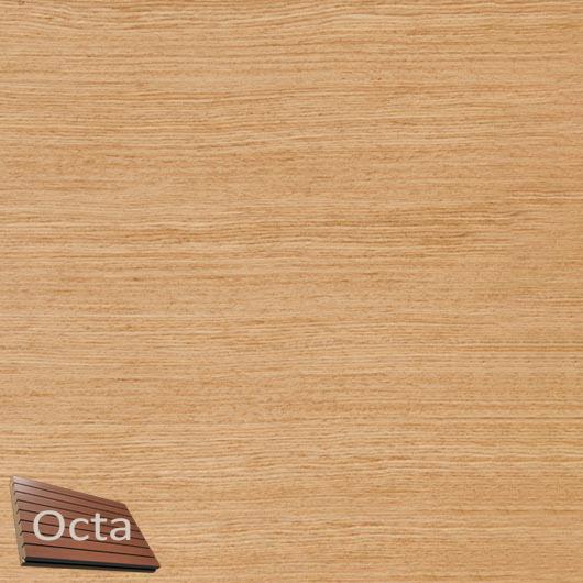 Акустическая панель Perfect-Acoustics Octa 1,5 мм с перфорацией шпон Дуб радиальный 2R 377-XV негорючая - интернет-магазин tricolor.com.ua