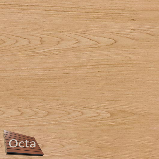 Акустическая панель Perfect-Acoustics Octa 1,5 мм с перфорацией шпон Дуб тангентальный 2R 377-FN 2 A30 негорючая - интернет-магазин tricolor.com.ua