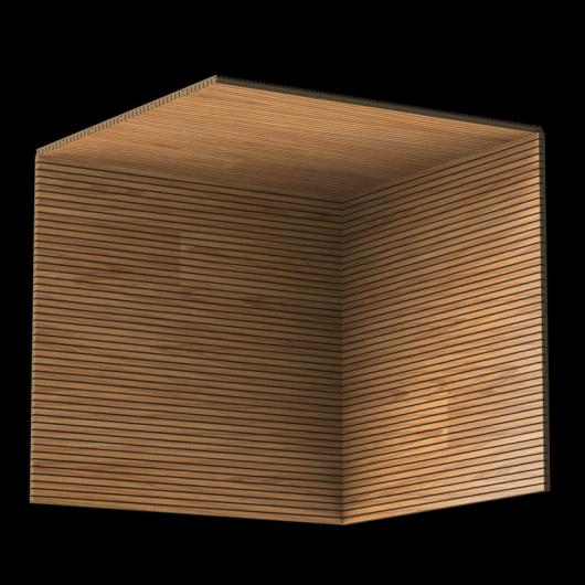 Акустическая панель Perfect-Acoustics Octa 1,5 мм с перфорацией шпон Дуб тангентальный golden 20.77 негорючая - изображение 3 - интернет-магазин tricolor.com.ua