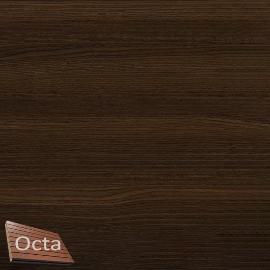 Акустическая панель Perfect-Acoustics Octa 1,5 мм с перфорацией шпон Дуб Thermo 10.68 негорючая - интернет-магазин tricolor.com.ua