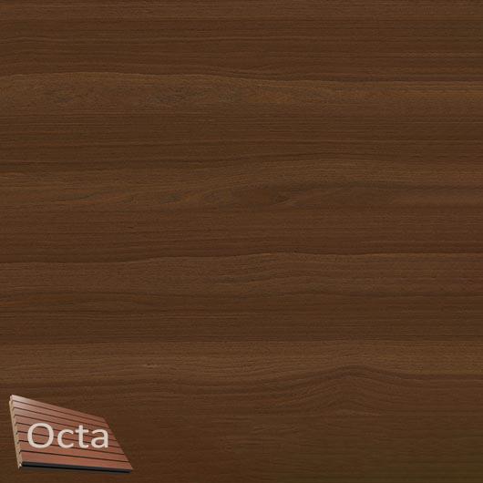 Акустическая панель Perfect-Acoustics Octa 1,5 мм с перфорацией шпон Дуб 10.94 Moka Oak негорючая - интернет-магазин tricolor.com.ua