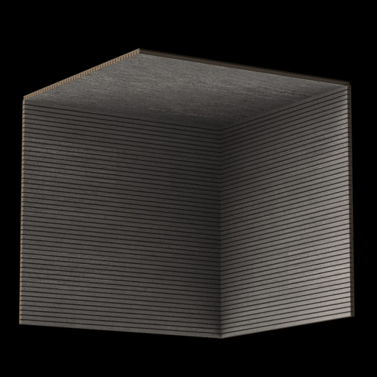 Акустическая панель Perfect-Acoustics Octa 1,5 мм с перфорацией шпон Дуб 11.02 Platinum Oak негорючая - изображение 3 - интернет-магазин tricolor.com.ua