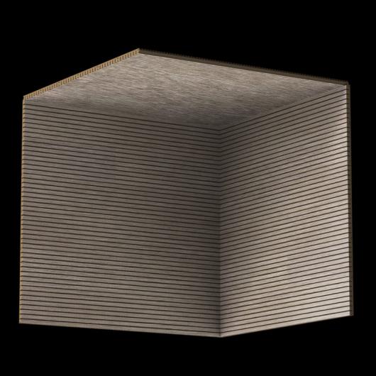 Акустическая панель Perfect-Acoustics Octa 1,5 мм с перфорацией шпон Дуб 11.06 Light Grey Oak негорючая - изображение 3 - интернет-магазин tricolor.com.ua