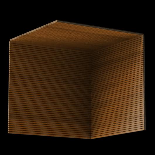 Акустическая панель Perfect-Acoustics Octa 1,5 мм с перфорацией шпон Тик темный 20.76 негорючая - изображение 3 - интернет-магазин tricolor.com.ua