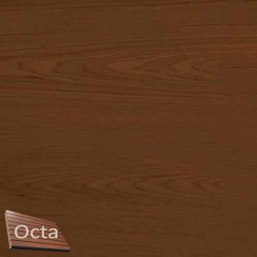 Акустическая панель Perfect-Acoustics Octa 1,5 мм с перфорацией шпон Орех Итальянский тангентальный негорючая - интернет-магазин tricolor.com.ua