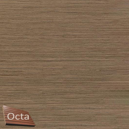 Акустическая панель Perfect-Acoustics Octa 1,5 мм с перфорацией шпон Орех Европейский радиальный 10.16 негорючая - интернет-магазин tricolor.com.ua