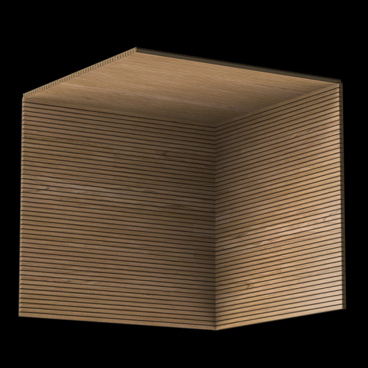 Акустическая панель Perfect-Acoustics Octa 1,5 мм с перфорацией шпон Орех Европейский тангентальный TBF негорючая - изображение 3 - интернет-магазин tricolor.com.ua