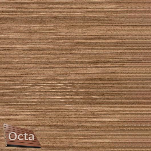 Акустическая панель Perfect-Acoustics Octa 1,5 мм с перфорацией шпон Орех 10.18 Balanced American Walnut негорючая - интернет-магазин tricolor.com.ua