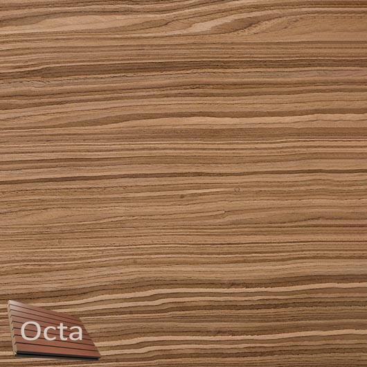 Акустическая панель Perfect-Acoustics Octa 1,5 мм с перфорацией шпон Орех 10.19 Wavy American Walnut негорючая - интернет-магазин tricolor.com.ua