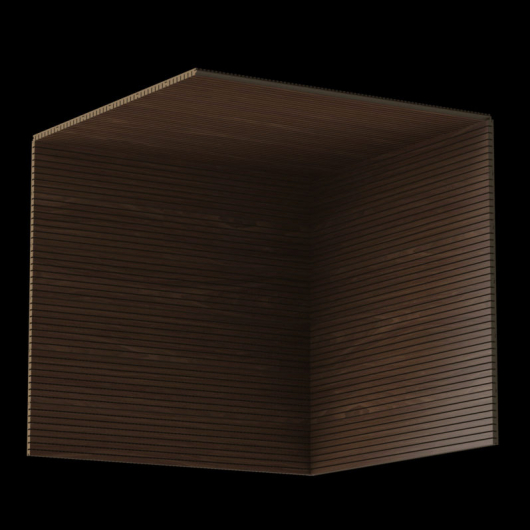 Акустическая панель Perfect-Acoustics Octa 1,5 мм с перфорацией шпон Орех Xilo тангентальный 10.11 негорючая - изображение 3 - интернет-магазин tricolor.com.ua