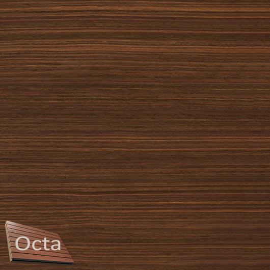 Акустическая панель Perfect-Acoustics Octa 1,5 мм с перфорацией шпон Палисандр Rosewood 20.21 негорючая - интернет-магазин tricolor.com.ua
