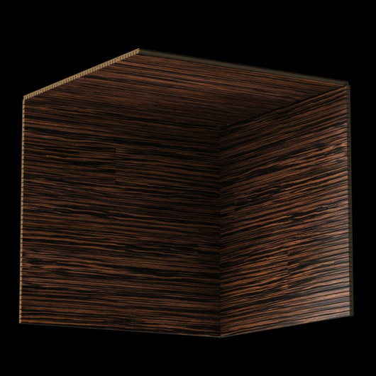 Акустическая панель Perfect-Acoustics Octa 1,5 мм с перфорацией шпон Эбеновое дерево 375 Макассар 10.41 негорючая - изображение 3 - интернет-магазин tricolor.com.ua