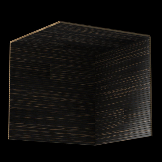 Акустическая панель Perfect-Acoustics Octa 1,5 мм с перфорацией шпон Эбони Ammara 10.42 Ammara Ebony негорючая - изображение 3 - интернет-магазин tricolor.com.ua