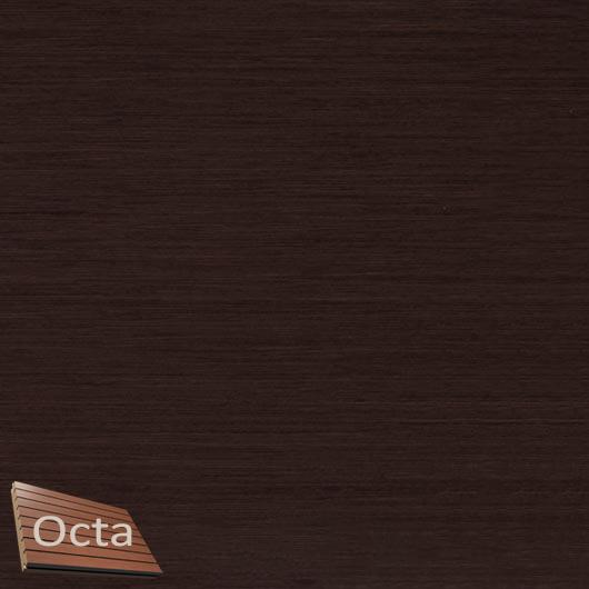 Акустическая панель Perfect-Acoustics Octa 1,5 мм с перфорацией шпон Венге крупнорадиальный Optima негорючая - интернет-магазин tricolor.com.ua