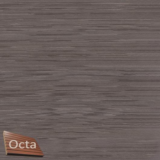 Акустическая панель Perfect-Acoustics Octa 1,5 мм с перфорацией шпон Венге белый 11.11 Dark Grey Lati негорючая - интернет-магазин tricolor.com.ua