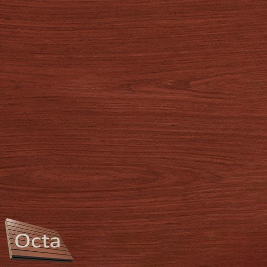 Акустическая панель Perfect-Acoustics Octa 1,5 мм с перфорацией шпон Красное дерево тангентальный негорючая - интернет-магазин tricolor.com.ua