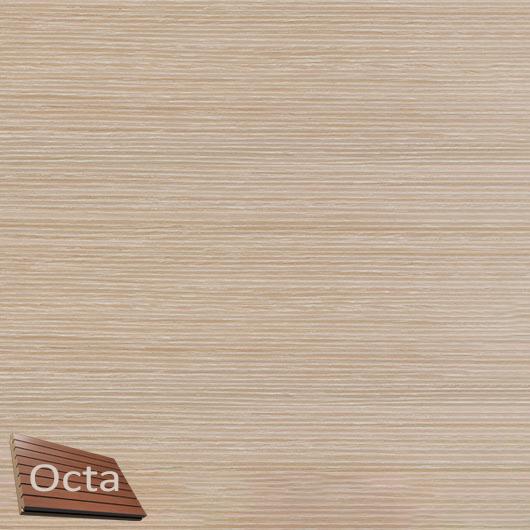 Акустическая панель Perfect-Acoustics Octa 3 мм без перфорации шпон Дуб беленый Grey 20.64 стандарт - интернет-магазин tricolor.com.ua