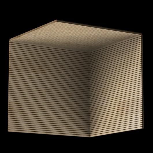 Акустическая панель Perfect-Acoustics Octa 3 мм без перфорации шпон Дуб 10.61 стандарт - изображение 3 - интернет-магазин tricolor.com.ua