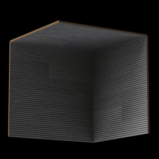 Акустическая панель Perfect-Acoustics Octa 3 мм без перфорации шпон Дуб 10.65 Smoke Grey Oak стандарт - изображение 3 - интернет-магазин tricolor.com.ua
