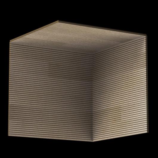 Акустическая панель Perfect-Acoustics Octa 3 мм без перфорации шпон Дуб 10.87 Natural Oak стандарт - изображение 3 - интернет-магазин tricolor.com.ua