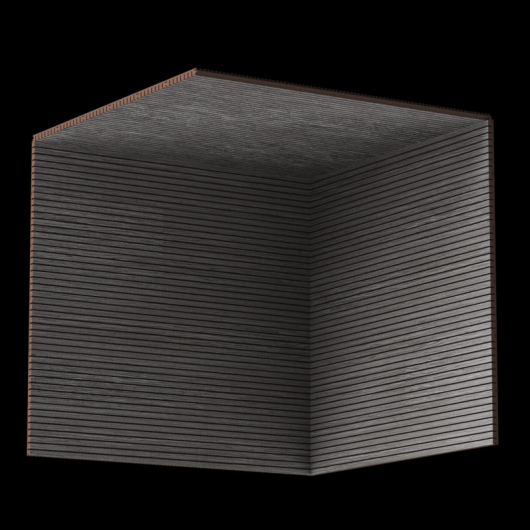 Акустическая панель Perfect-Acoustics Octa 3 мм без перфорации шпон Дуб 11.05 Titanium Oak стандарт - изображение 3 - интернет-магазин tricolor.com.ua