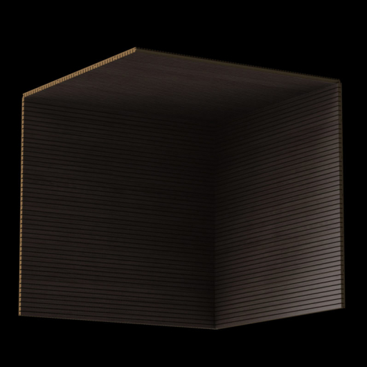 Акустическая панель Perfect-Acoustics Octa 3 мм без перфорации шпон Дуб серый Xilo полурадиальный 18.23 стандарт - изображение 3 - интернет-магазин tricolor.com.ua