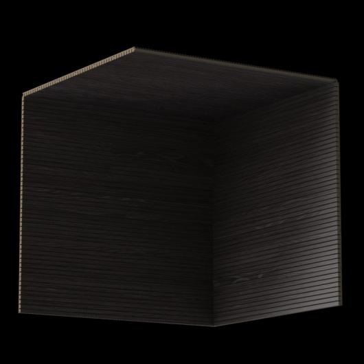 Акустическая панель Perfect-Acoustics Octa 3 мм без перфорации шпон Дуб черный Xilo полурадиальный 18.24 стандарт - изображение 3 - интернет-магазин tricolor.com.ua