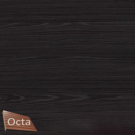 Акустическая панель Perfect-Acoustics Octa 3 мм без перфорации шпон Дуб черный Xilo полурадиальный 18.24 стандарт - интернет-магазин tricolor.com.ua