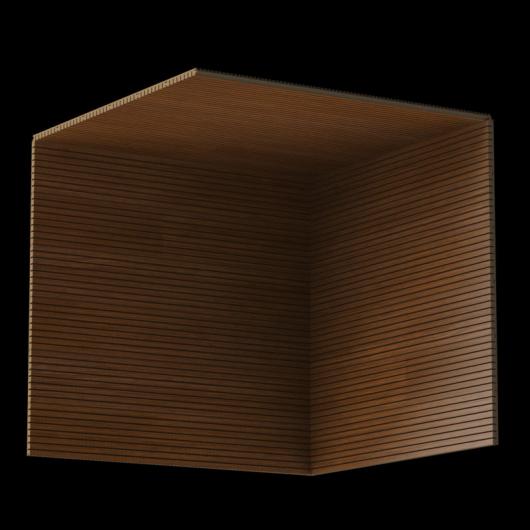 Акустическая панель Perfect-Acoustics Octa 3 мм без перфорации шпон Орех Итальянский радиальный 20.15 стандарт - изображение 3 - интернет-магазин tricolor.com.ua