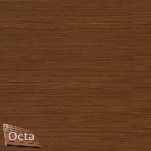 Акустическая панель Perfect-Acoustics Octa 3 мм без перфорации шпон Орех Итальянский радиальный 20.15 стандарт - интернет-магазин tricolor.com.ua
