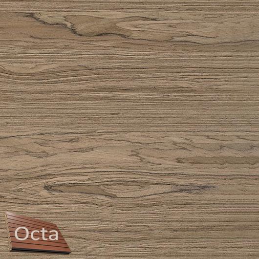 Акустическая панель Perfect-Acoustics Octa 3 мм без перфорации шпон Орех Noble Walnut стандарт - интернет-магазин tricolor.com.ua