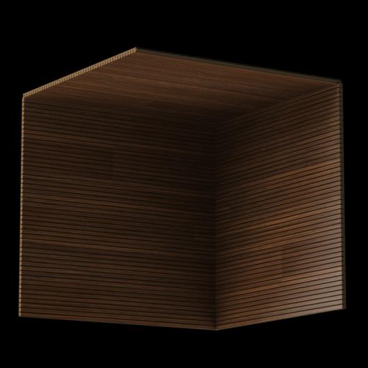 Акустическая панель Perfect-Acoustics Octa 3 мм без перфорации шпон Палисандр Rosewood 20.21 стандарт - изображение 3 - интернет-магазин tricolor.com.ua
