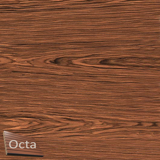 Акустическая панель Perfect-Acoustics Octa 3 мм без перфорации шпон Палисандр Santos 10.24 тангентальный стандарт - интернет-магазин tricolor.com.ua